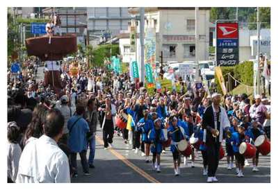 市中パレードと各種イベント