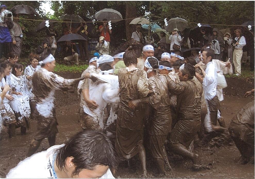 御田植祭りの形態
