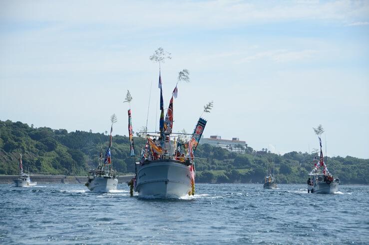 船団パレード