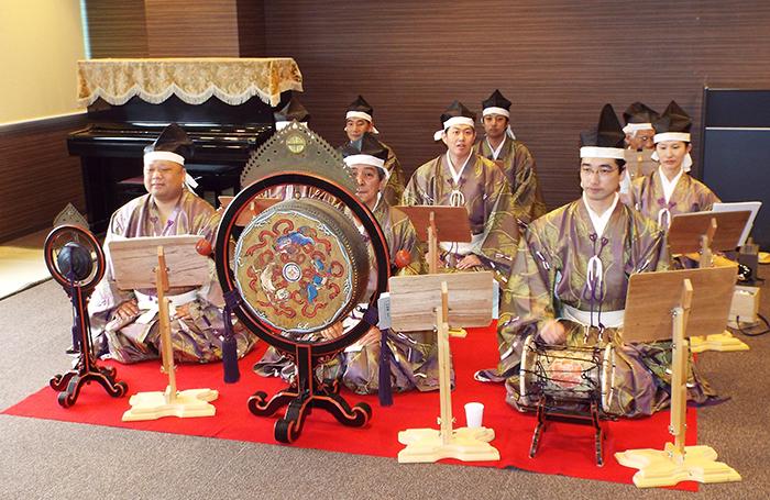 神社庁鹿児島支部雅楽同好会