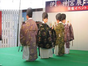加紫久利神社子供神楽